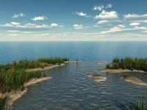 вода заводов иллюстрация вектора