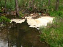 вода загрязнения Стоковая Фотография RF