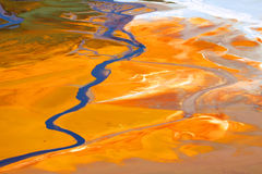 вода загрязнения стоковая фотография