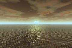 вода золота Стоковое Фото