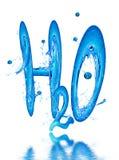вода изображения формулы Стоковые Фото