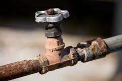 вода из крана Стоковое Изображение