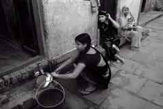 вода Индии кризиса стоковые фотографии rf