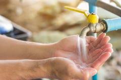 Вода и система водоснабжения Стоковые Фотографии RF