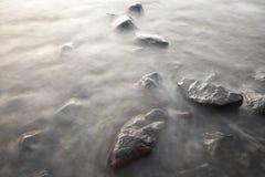 вода камней Стоковые Изображения