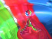 вода капельки Стоковые Фотографии RF