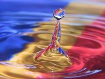 вода капельки Стоковое Фото