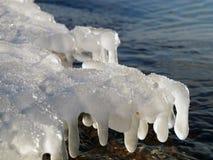вода картины льда Стоковые Изображения RF