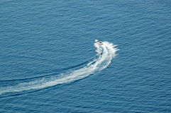 вода катания на лыжах Стоковые Фото