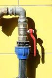 вода клапана Стоковая Фотография