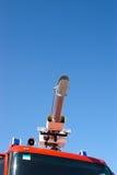 вода корабля пожара бой карамболя Стоковые Фото