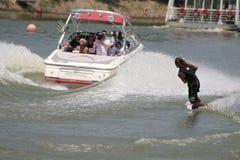 вода лыжи Стоковое Изображение RF