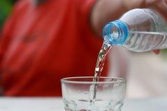 вода любимчика бутылки Стоковые Изображения RF