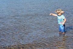 вода мальчика Стоковые Фотографии RF