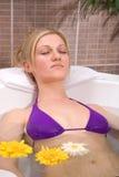 вода массажа Стоковое Изображение RF