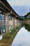 вода моста Стоковое Изображение