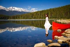 вода невесты стоковая фотография rf