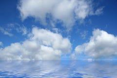 вода облаков стоковое фото rf