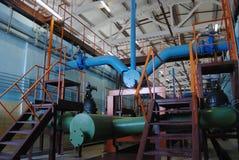 вода обработки завода Стоковое Изображение