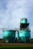 вода обработки завода стоковое фото rf