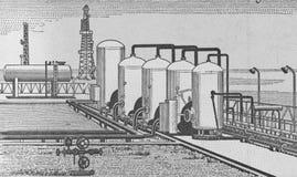 вода обработки завода Стоковая Фотография