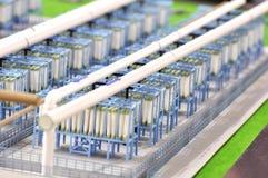 вода обработки оборудований Стоковая Фотография