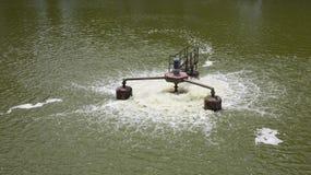 вода обработки Стоковая Фотография