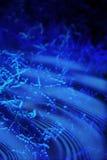 вода океана предпосылки голубая Стоковое фото RF