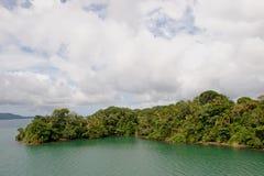вода острова барьера ясная стоковые изображения rf