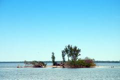 вода острова малая Стоковое Фото