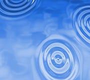 Вода падает предпосылка Стоковые Изображения RF