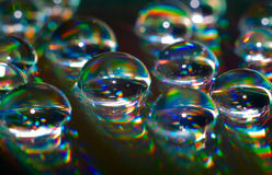 вода падений компактного диска Стоковые Фотографии RF