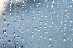 вода падений предпосылки голубая стоковые фотографии rf