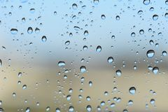 вода падений предпосылки голубая стоковые фото
