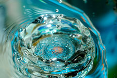 вода падения Стоковое Изображение