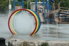 вода парка потехи стоковое фото