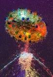 вода пасхального яйца Стоковое фото RF