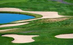 вода песка опасностей Стоковая Фотография RF