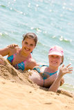 вода песка стоковая фотография rf