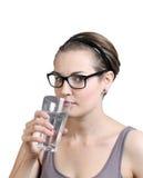 вода питья стоковая фотография rf