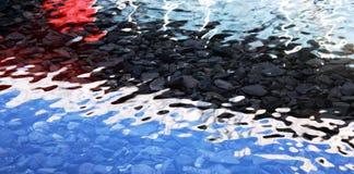 вода покрашенная предпосылкой Стоковая Фотография RF