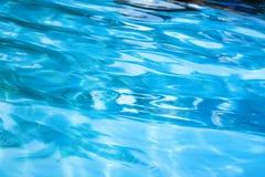 вода предпосылки голубая Стоковые Изображения