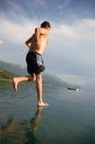 вода прогулки Стоковое Фото