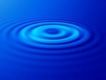 вода пульсации Стоковая Фотография