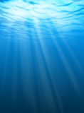вода пульсаций подводная Стоковые Фото