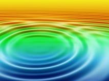 вода пульсаций Стоковые Фото