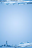 вода рамки Стоковые Фото