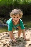 вода реки детских игр малая Стоковая Фотография
