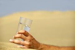 вода руки пустыни Стоковые Фотографии RF