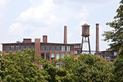 вода сбора винограда башни фабрики Стоковое фото RF